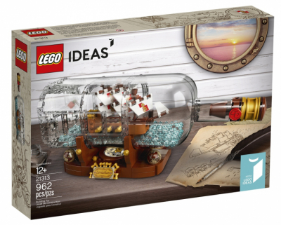 ЛЕГО Ideas 21313 Корабль в бутылке