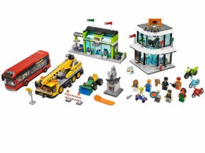 Лего 60026 городская площадь