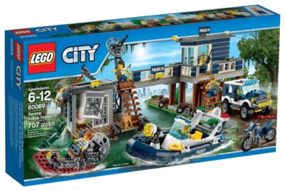 Участок новой лесной полиции (Lego 60069)
