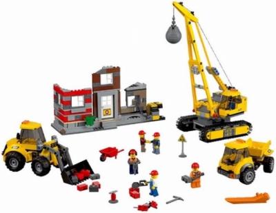 Лего 60076 Снос здания