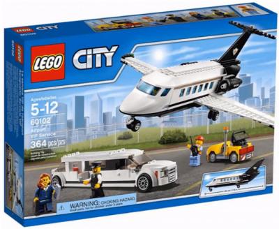 Служба аэропорта для важных клиентов (Lego 60102)