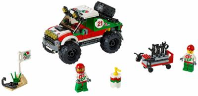 Внедорожник 4x4 (Lego 60115)