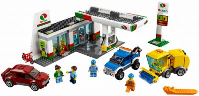 Станция технического обслуживания (Lego 60132)