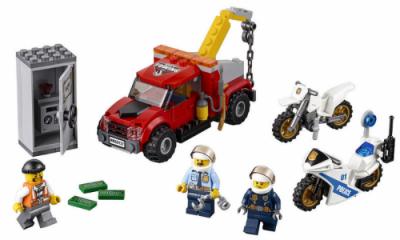 Побег на буксировщике (Lego 60137)