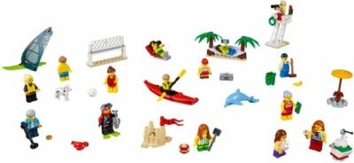 Отдых на пляже - жители LEGO CITY (Lego 60153)