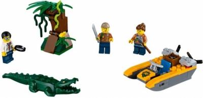 Лего 60157 Джунгли Jungle Starter Set