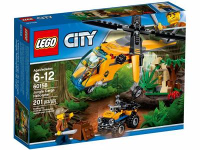 Лего 60158 Джунгли Грузовой верталет