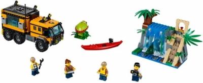 Передвижная лаборатория в джунглях (Lego 60160)