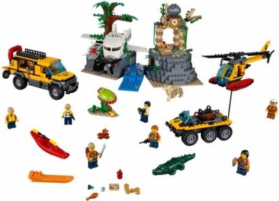 Лего 60161 Jungle Exploration Site