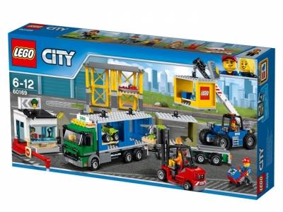 Коробка Грузовой терминал (Lego 60169)