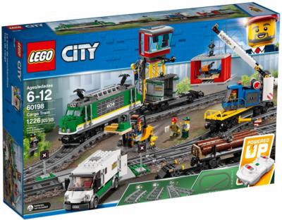 LEGO поезд 60198 коробка