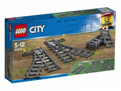 LEGO CITY Железнодорожные стрелки