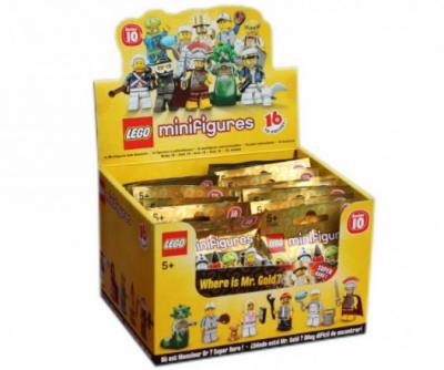 Купить конструктор LEGOCollectible Minifigures: Series 10 Minifigures: 6029268 Minifigure Series 10 (Box of 30) в Москве. Доставка лего по России.