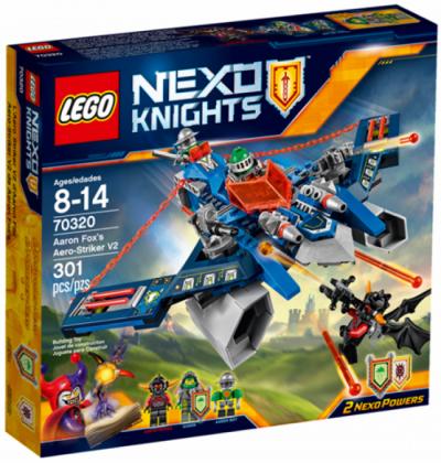 ЛЕГО 70320 Воздушный охотник Аарона Nexo Knights