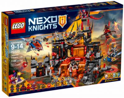 ЛЕГО 70323 Вулканическая база Джестро Nexo Knights