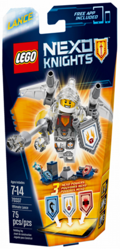 Купить конструктор LEGO Nexo Knights 70337 Ultimate Lance в Москве. Доставка лего по России.