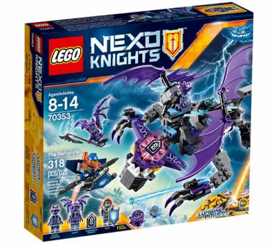 Купить конструктор nexo knights лего Лего 70353 Летающая Горгулья в Москве доставка по России.
