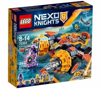 Купить конструктор nexo knights Лего 70354 Бур-машина Акселя в Москве доставка по России.