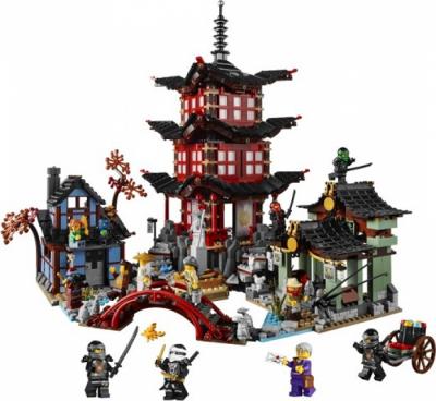 Лего 70751 Храм Аэроджитцу