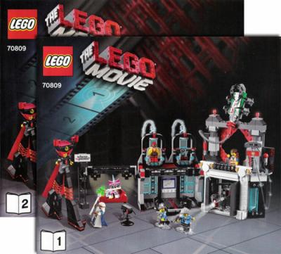 Инструкции для конструктора Лего 70809 Логово лорда Бизнеса