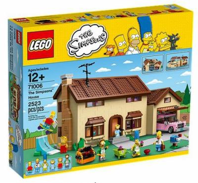Купить конструктор LEGO The Simpsons: 71006 The Simpsons House в Москве. Доставка лего по России.