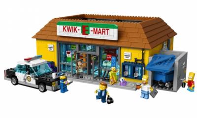 Купить конструктор LEGO The Simpsons: 71016 The Kwik-E-Mart в Москве. Доставка лего по России.