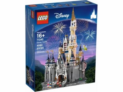 Купить конструктор Лего 71040 Сказочный замок Disney 2017 год
