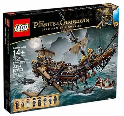 Купить конструктор LEGO Pirates of the Caribbean 71042 Silent Mary в Москве. Доставка лего по России.