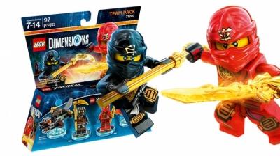 Купить конструктор LEGO  Dimensions Wave 2: 71207 TTeam Pack - Ninjago в Москве. Доставка лего по России.