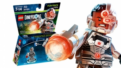 ЛЕГО 71210 Киборг DC Fun Pack DIMENSIONS