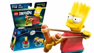 Купить конструктор LEGO  Dimensions The Simpsons Wave 2: 71211 Fun Pack - The Simpsons Bart and Gravity Sprinter в Москве. Доставка лего по России.