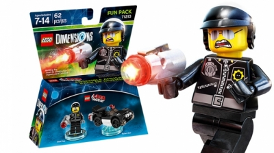 Купить конструктор LEGO  Dimensions The Lego Movie Wave 1: 71213 Fun Pack - The LEGO Movie Bad Cop and Police Car в Москве. Доставка лего по России.