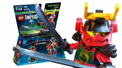 ЛЕГО 71216 Nya Fun Pack DIMENSIONS