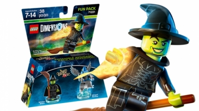 ЛЕГО 71221 Wicked Witch  Fun Pack DIMENSIONS