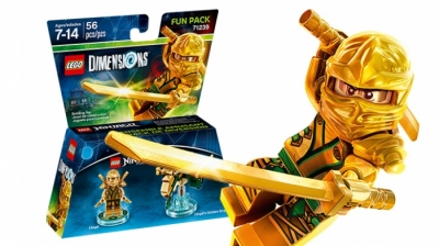 ЛЕГО 71239 Dimensions Gold Ninja