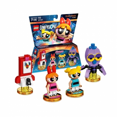 Лего 71346 The Powerpuff Girls Team Pack