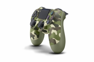 Sony Dualshock 4 - Green Camouflage (Зеленый Камуфляж)