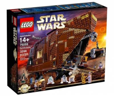 Купить конструктор LEGO 75059 Коллекционный Песчаный Краулер Star Wars