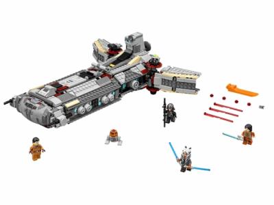 Лего 75158 боевой фрегат повстанцев