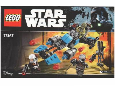 Lego Star Wars 75167 Лего Звездные Войны Спидер охотника за головами