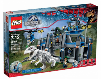 Купить конструктор LEGO Jurassic World: 75919 Indominus rex Breakout в Москве. Доставка лего по России.
