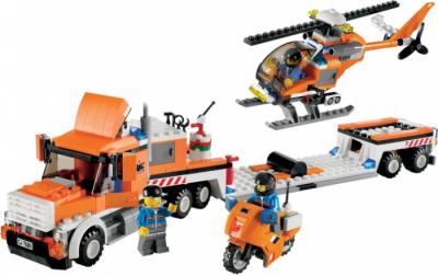 Лего 7686 Транспортный вертолет