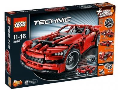 ЛЕГО 8070 Супер Автомобиль Technic