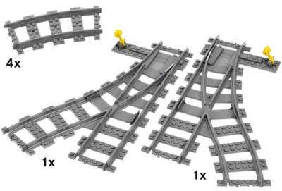 LEGO City 7895 Переключаемые развилки