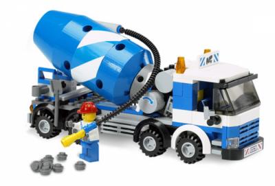 Лего 7990 Бетономешалка (LEGO CITY)
