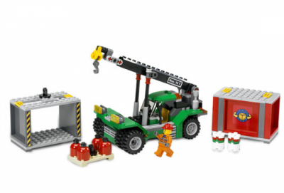 Лего 7992 контейнер укладчик
