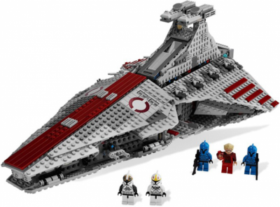 ЛЕГО 8039 Venator-Class Republic Attack Cruiser