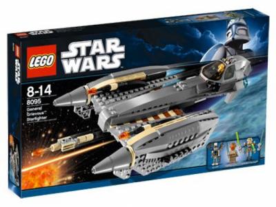 Лего 8095 Звездный истребитель генерала Гривуса