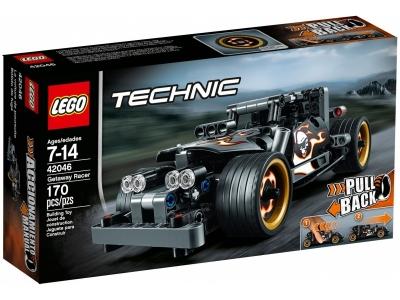 ЛЕГО 42046 Гоночный автомобиль для побега Technic