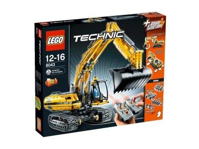ЛЕГО 8043 Моторизированный Экскаватор Technic